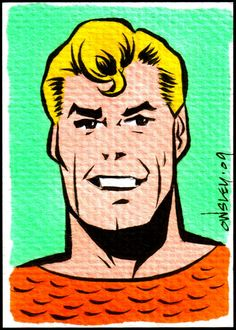 Aquaman (Super friends) by by Patrick Owsley
