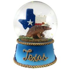 Texas Snow Globe Snow Dome- 65 MM- Top line *** To view further for this item, visit the image link.