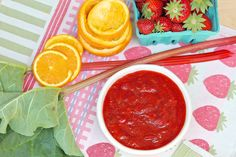 Strawberry Rhubarb Sauce — The Fountain Avenue Kitchen