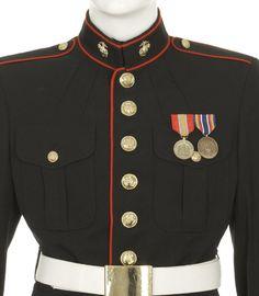 Army dress blue uniform ribbon placement