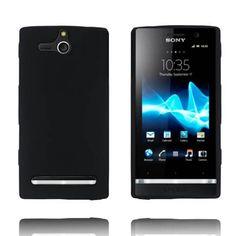 Mjukskal - Matt (Svart) Sony Xperia U-Skydd