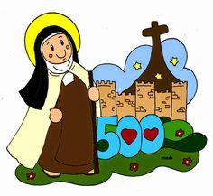 Mis ilustraciones: V Centenario de Santa Teresa de Jesús de Ávila