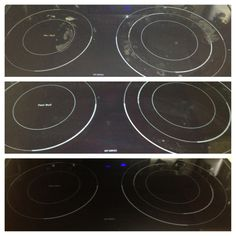 Cleaning Your Ceramic Cook Top Stove Natural With Baking Soda And Hot Soapy Towel