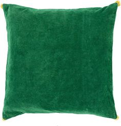Surya VP0061818P Synthetic Fill Pillow 18Inch by 18Inch EmeraldKelly GreenSunflower * See this great product for home decor.