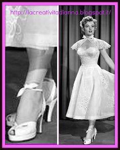 nuovo concetto be0de 2fc64 105 fantastiche immagini su scarpe anni 40-50-60 | Scarpe ...