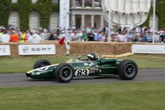 Lotus 38 Ford (Chassis 38/4 - 2011 Goodwood Festival of Speed) High Resolution Image