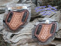 Check out this item in my Etsy shop https://www.etsy.com/listing/266783418/hand-tooled-knife-sheath