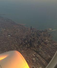 Sunrise over Chicago