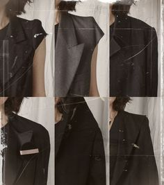 the shapes of martin margiela | via cotonblanc: neoclassicalvintage