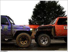 Competitor 4x4 Daihatsu Rocky Face-to-Face