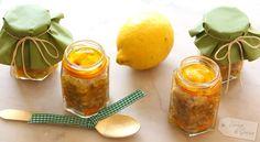 Zitronen-Walnuss-Pesto mit karamellisierten Orangen - Zitronen Wallnuss Pesto mit kandierten Orangen