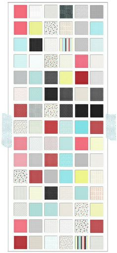 free Christmas printable patterned paper preview 500px by melstampz, via Flickr