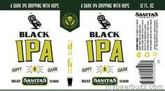 Sanitas Black IPA Coming to 12oz Cans