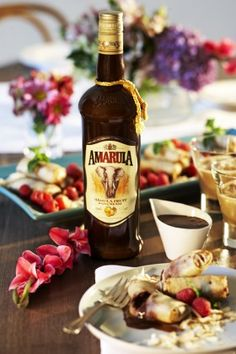 Amarula and banana spring rolls recipe | Getaway Travel Blog