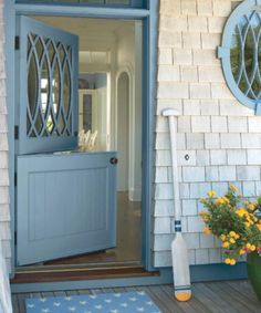 Would you paint your front door a gorgeous blue color? Most shades of blue have a sense of calm about them, but what can it really say about you?