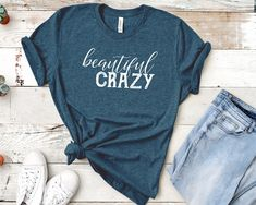 Beautiful Crazy Song Inspired Womens Shirt Luke Super Soft Crew Neck Unisex T Sh - Lyric Shirts - Ideas of Lyric Shirts - Beautiful Crazy Song Inspired Womens Shirt Luke Super Soft Crew Neck Unisex T Shirt Lyric Shirts, Vinyl Shirts, Country Shirts, Country Outfits, T Shirts With Sayings, Cool T Shirts, Chemises Country, T Shirt Citations, Beau T-shirt