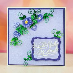 Tattered Lace Summer Bloom Charisma Die with CD ROM (141938) | Create and Craft