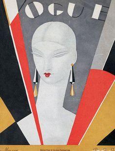 British Vogue Cover Benito  May 1926