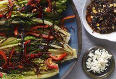 grilled romain salad