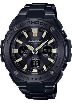 G-Shock G-Steel Solar All Black Lume