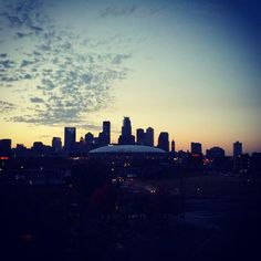 albertisawesome: Soaking in the skyline during sunset. Minneapolis Skyline, Minneapolis St Paul, Seattle Skyline, New York Skyline, Space Mountain, Twin Cities, Story Inspiration, Minnesota, Places Ive Been