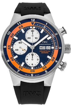 Pre-Owned IWC Watch - Aquatimer Chronograph Cousteau Divers