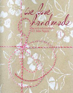 we love handmade MAG #1