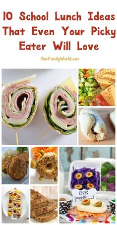 Finding fun yet tast Finding fun yet tasty school lunch recipes for picky for kids can be challenging. Read on to see a few of my favorites including a recipe for a delicious pinwheel sandwich theyll love! Pinwheel Sandwich Recipes, Pinwheel Sandwiches, Wrap Sandwiches, School Lunch Recipes, School Lunches, Kids Meals, Easy Meals, Cooking Tips, Cooking Recipes