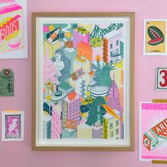 A4 New York City Risograph Print — Jacqueline Colley