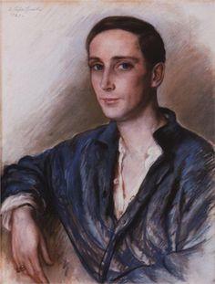 Zinaida Serebriakova (Russian 1884–1967) [Impressionism] Prince Felix Yusupov, 1925.
