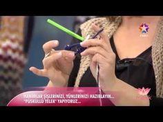Saçaklı Kısa Yelek Örgü - Tülin İriş Melek Baykal - YouTube