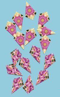 "Tea Bag Folding @ CircleOfCrafters.com: A Unique Card Making Technique  ""kite fold"""