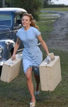 5 things we learned from 'The Notebook' | Jaimie-Lou Think about what YOU want, then choose. You'll be much happier. Just look at Rachel McAdam's smile :).
