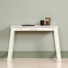 Sauder Beginnings Writing Desk in Soft White