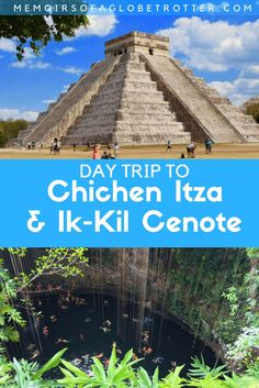 Take a day trip from Cancun and discover the ancient ruins of Chichen Itza, swim in the sacred cenote of Ik-Kil, and visit the colonial town of Valladolid. Travel in North America.