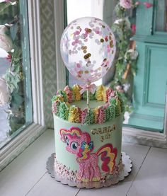 "@lulukaylacupcake on Instagram: ""*********************************************** WHATSAPP ORDER 0852 13384789 0812 8506 3308 0857 1536 0702 0878 5550 7669…"" Snow Globes, Balloon Cake, Buttercream Cake, Little Pony, Amazing Cakes, Balloons, Cupcakes, Home Decor, Instagram"
