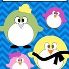 This is a FREE zip file of Penguin Clip Art and accessories.    The download includes penguins, bow ties, hats, and a scarf.  All files are GIF fil...