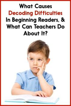 Why do some students have a tough time learning how to decode? Read this post to find out why, as well as get 5 action steps that you can take to help your struggling decoders! {K-2 appropriate}