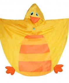 Stephen Joseph Children's Rain Poncho - Duck
