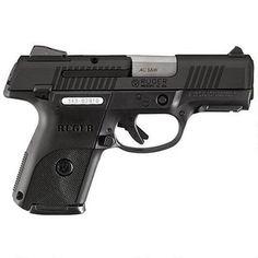 "Ruger SR40c Semi Auto Handgun .40 S&W 3.50"" Barrel 15 Rounds Adjustable Sights Polymer Frame Black Finish 3477 - 736676034772"