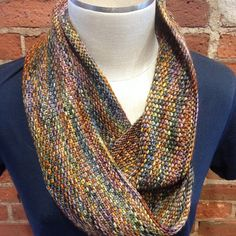 Linen Stitch Cowl by Carly Stipe | malabrigo Arroyo in Piedras