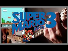 Steve Onotera, aka samuraiguitarist, recorded a wonderful cover of the Super Mario Bros. 3 soundtrack, creating all the sounds effects with a guitar. Mario Bros 3, Super Mario Bros, Video Game Music, Music Videos, Fun Games, Games To Play, Creative Video, Elementary Music, Sound Effects