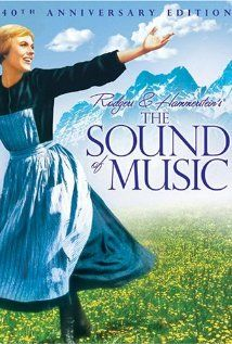 The Sound of Music is a 1965 American musical film directed by Robert Wise and starring Julie Andrews and Christopher Plummer. Christopher Plummer, Julie Andrews, Film Music Books, Music Tv, Music Sing, Reggae Music, Pop Music, Blues Music, Movies Showing