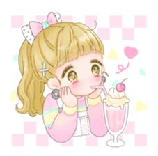 Happy Fancy Girls! - Manamoko Stickers