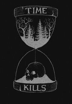 Dark forest, glow of the lake, an eternal dance of death Totem Tattoo, Arte Horror, Horror Art, Tattoo Drawings, Art Drawings, Boys With Tattoos, Skeleton Art, Neue Tattoos, Sad Wallpaper