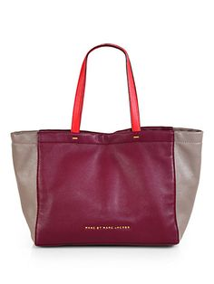 Love this Marc Jacobs tote from www.saks.com
