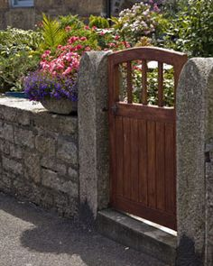 Fence Gate Design Ideas love this diy fence beautiful idea for a smaller greenbelt to peek through to the Garden Fence Plans Wooden Fence Gates Such As This Are Sometimes Called Pedestrian Gates