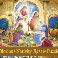Family night can become inspirational with our amazing bible jigsaw puzzles and other religious themed puzzles. Beautiful scenes like Noah's Ark and Christ feeding the masses. Christmas Jigsaw Puzzles, Family Night, Puzzles For Kids, 1000 Piece Jigsaw Puzzles, Nativity, Bible, Christian, Painting, Inspiration