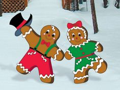 Gingerbread Junction - Dancers  from houseplansandmore.com