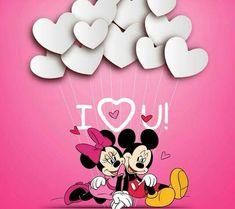 Minnie y Mickey Disney Mickey Mouse, Mickey Mouse E Amigos, Mickey And Minnie Love, Mickey Mouse And Friends, Disney Fun, Walt Disney, Holiday Wallpaper, Love Wallpaper, Cartoon Wallpaper